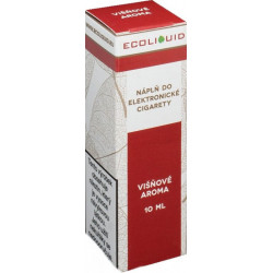 Liquid Ecoliquid Cherry 10 ml - 6 mg