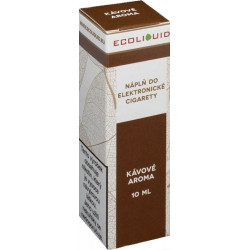 Liquid Ecoliquid Coffee 10 ml - 3 mg