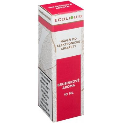 Liquid Ecoliquid Cranberry 10 ml - 00 mg