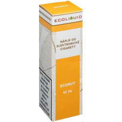 Liquid Ecoliquid ECORUY 10 ml - 12 mg