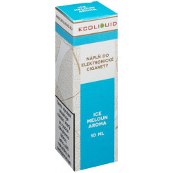 Liquid Ecoliquid ICE Melon 10 ml - 6 mg