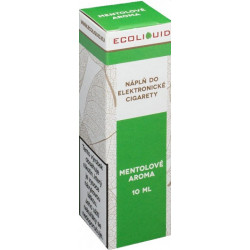Liquid Ecoliquid Menthol 10 ml - 6 mg