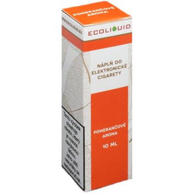 Liquid Ecoliquid Orange 10 ml - 06 mg