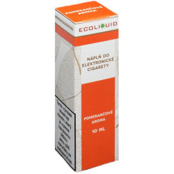 Liquid Ecoliquid Orange 10 ml - 6 mg