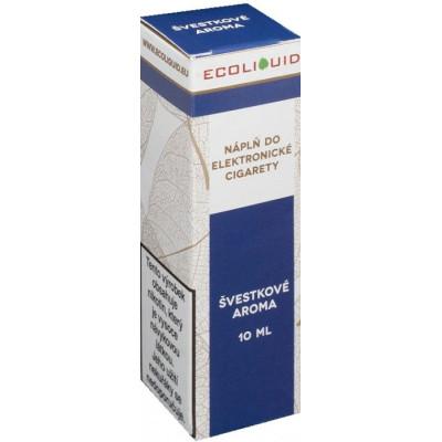 Liquid Ecoliquid Plum 10 ml - 00 mg