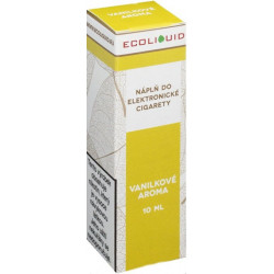 Liquid Ecoliquid Vanilla 10 ml - 3 mg