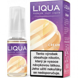 Liquid LIQUA CZ Elements Cream 10 ml-18 mg