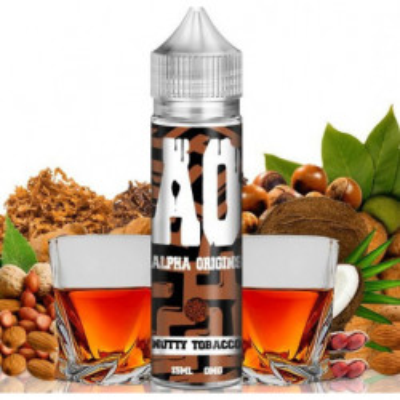 Příchuť Alpha Origins Shake and Vape 15 ml Nutty Tobacco