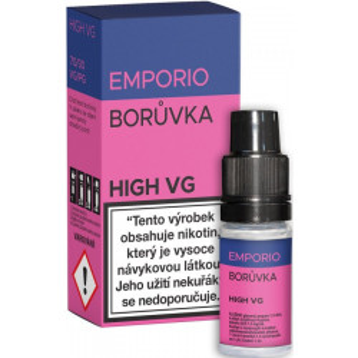 Liquid EMPORIO High VG Blueberry 10 ml - 03 mg