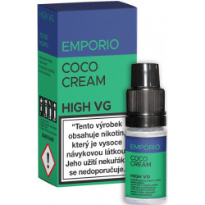 Liquid EMPORIO High VG Coco Cream 10 ml - 1,5 mg