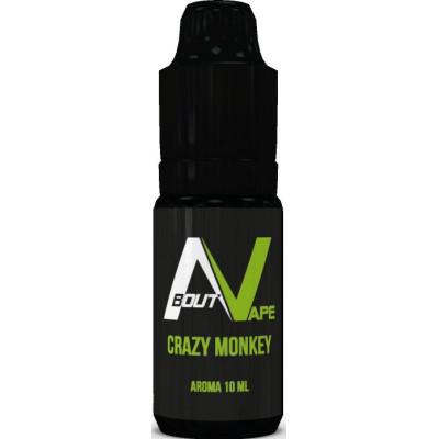 Příchuť Bozz Pure 10 ml Crazy Monkey (Jablka, vanilka a tajné koření)