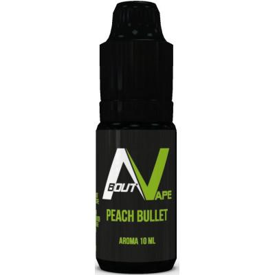 Příchuť Bozz Pure 10 ml Peach Bullet (Šťavnatá broskev)