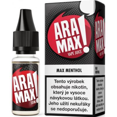 Liquid ARAMAX Max Menthol 10 ml-6 mg