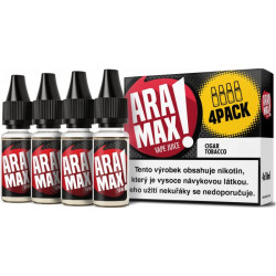 Liquid ARAMAX 4Pack Cigar Tobacco 4x10 ml-06 mg