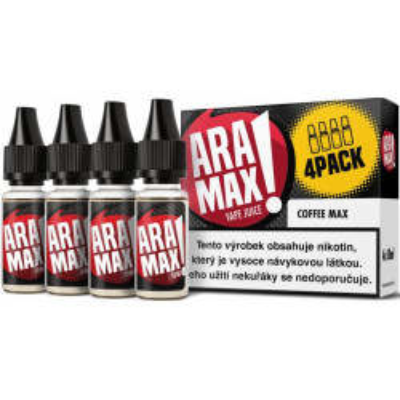 Liquid ARAMAX 4Pack Coffee Max 4x10 ml-03 mg