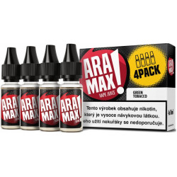 Liquid ARAMAX 4Pack Green Tobacco 4x10 ml-06 mg