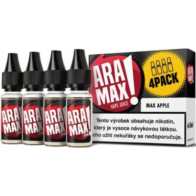 Liquid ARAMAX 4Pack Max Apple 4x10 ml-3 mg