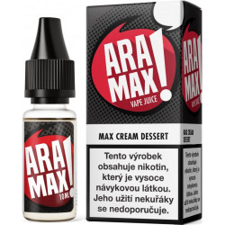 Liquid ARAMAX Max Cream Dessert 10 ml-6 mg