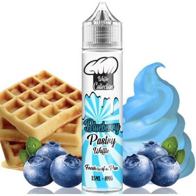 Příchuť Waffle Collection Shake and Vape 15 ml Blueberry Pastry