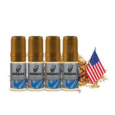 Dreamix American Dream 4x10 ml-18 mg (Americký tabák)