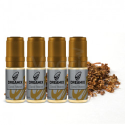 Dreamix Classic Tobacco 4x10 ml-18 mg (Klasický tabák)