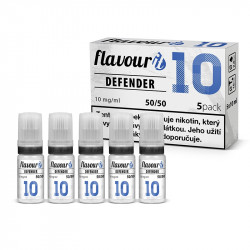 Flavourit báze Defender 50/50 - 10 mg 5x10 ml