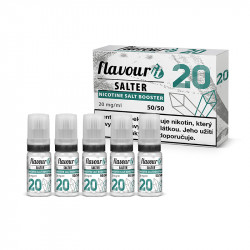 Flavourit Salter Booster 50/50 - 20 mg 5x10 ml
