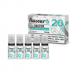Flavourit Salter Booster 70/30 - 20 mg 5x10 ml