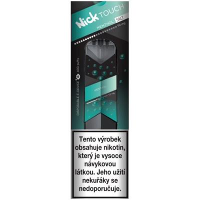 Nick Touch Salt elektronická cigareta Menthol 10mg