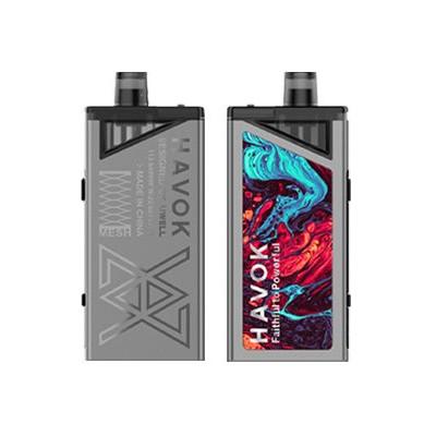 Uwell HAVOK V1 Pod 65W grip Full Kit 1800mAh Silver