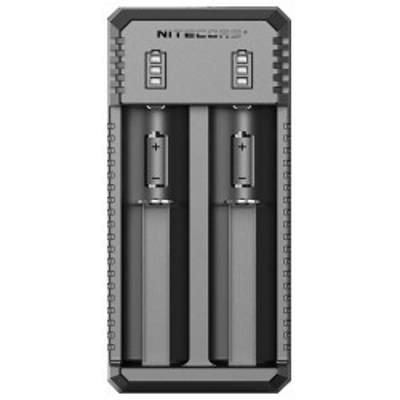 Nitecore UI2 Portable Dual-Slot USB nabíječka pro monočlánky