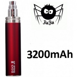 GS eGo III baterie 3200 mAh Red