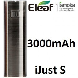 iSmoka-Eleaf iJust S baterie 3000 mAh Brushed Black