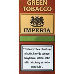 Ochucená báze IMPERIA Green Tobacco 10ml - 6mg